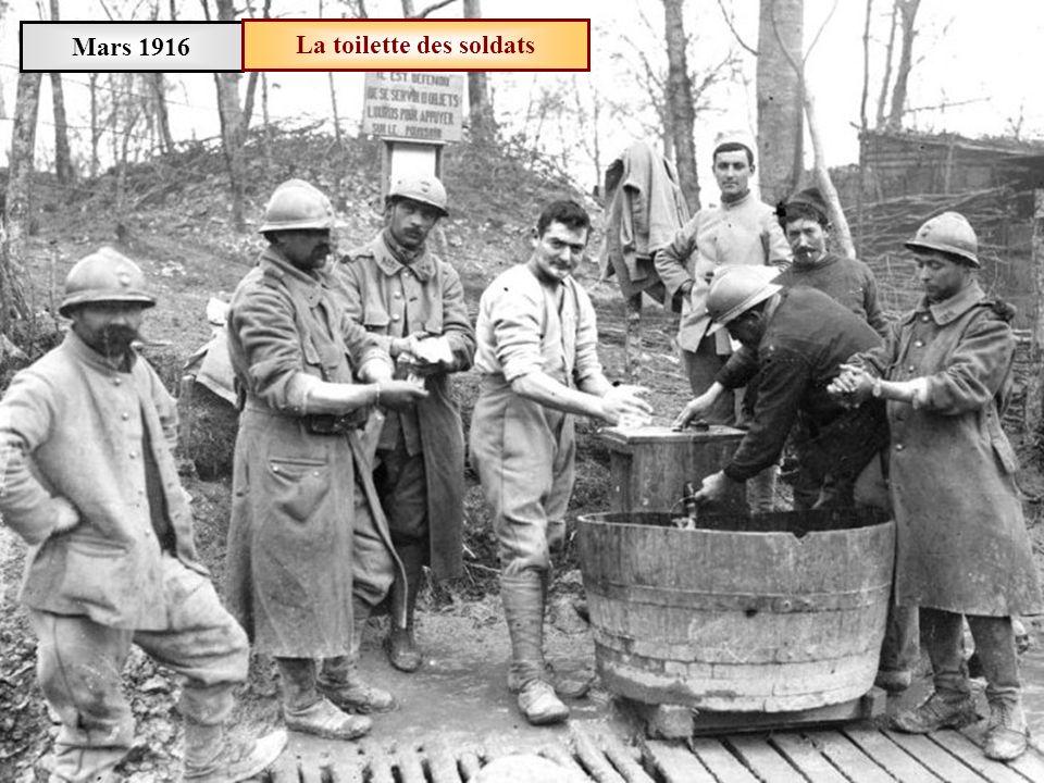 Mars 1916Théâtre aux armées à Limey