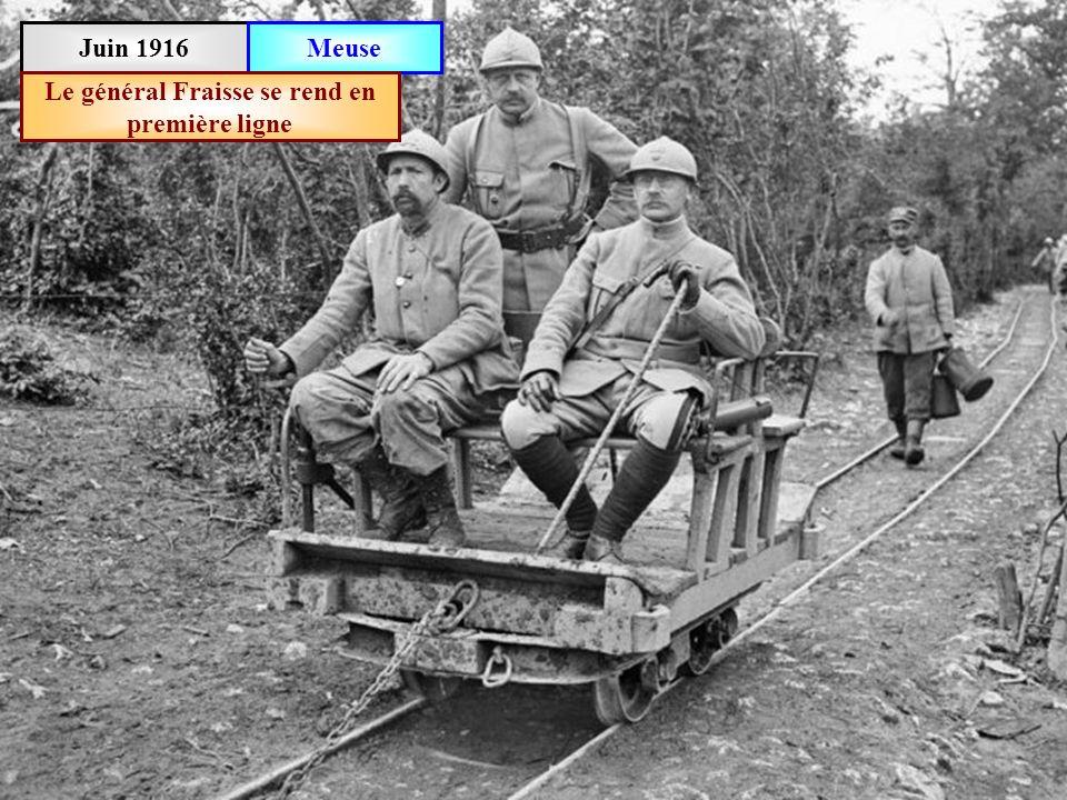 Juin 1916 Meuse Fort des Paroches