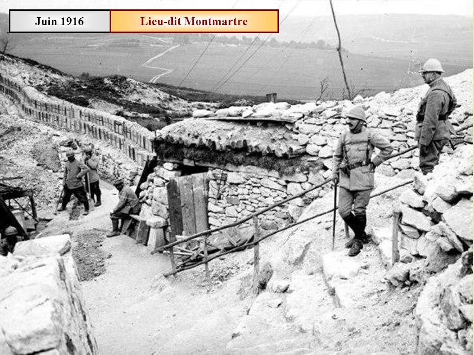 Juin 1916Meuse Le général Fraisse se rend en première ligne