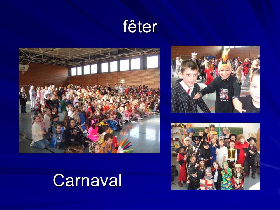 fêter Carnaval