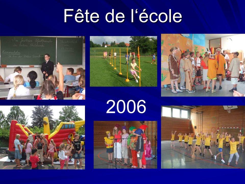 Fête de lécole 2006