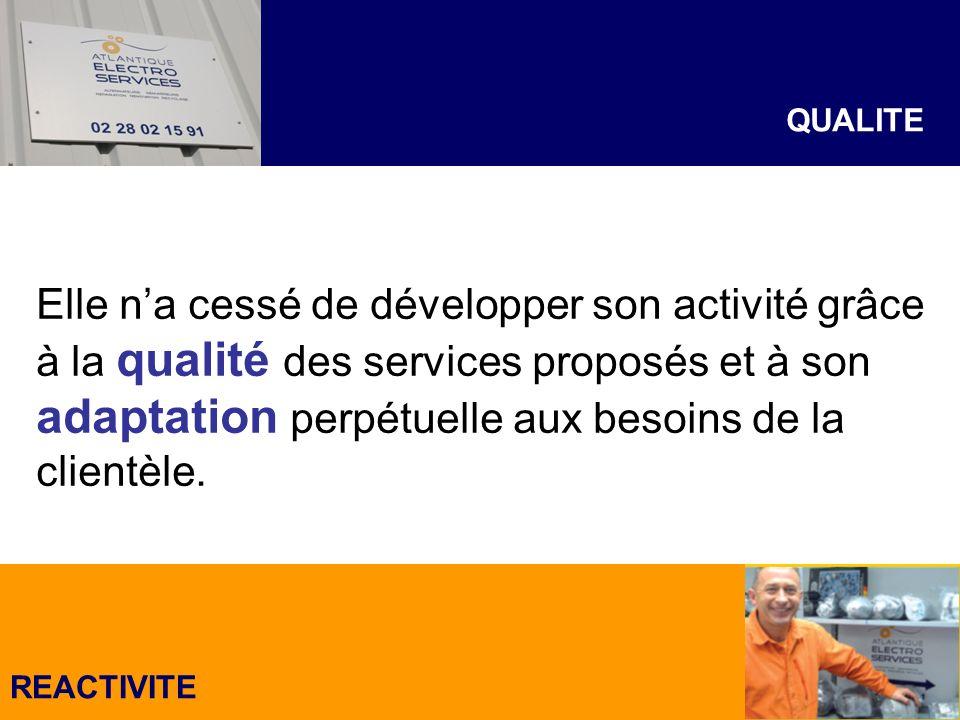 LASSURANCE DUN PRODUIT OU DUNE REPARATION DE QUALITE Léquipe dA.E.T.S.
