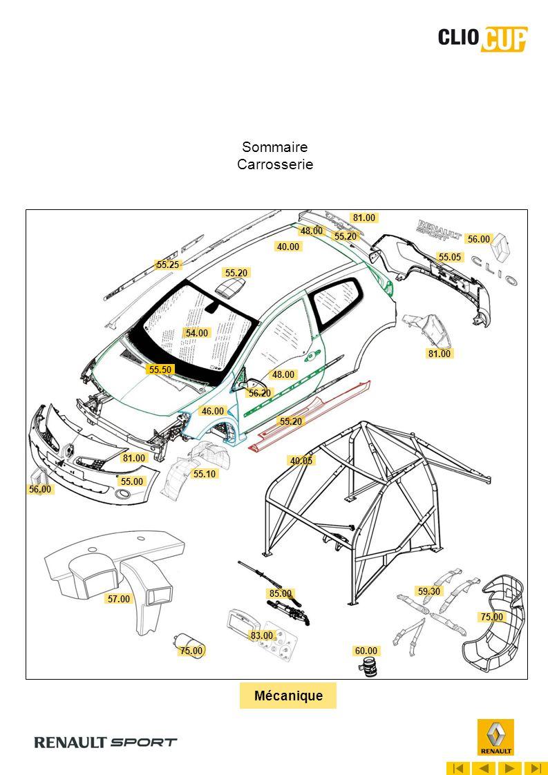 08.00 1er mars 2010 NOMENCLATURE REGLEMENT TECHNIQUE 2010 ABC 1X 2X 3X 4X 5X 1B : Lubrifiant moteur Seule lhuile moteur ELF Excellium 5W40 est autorisée (voir article 7 du règlement technique)