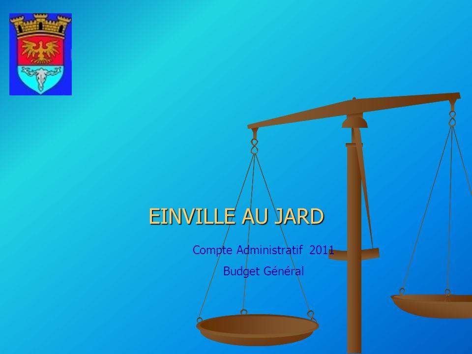 Compte Administratif 2011 Budget Général