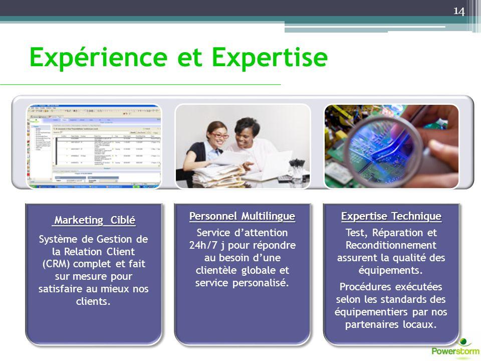 Expérience et Expertise 14