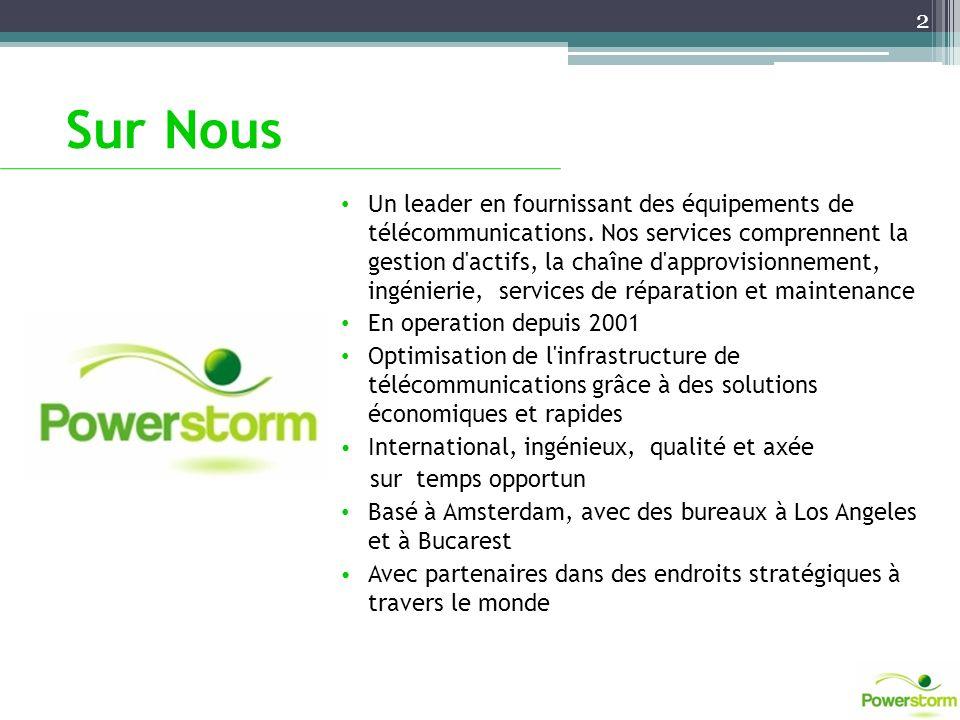 Sur Nous Un leader en fournissant des équipements de télécommunications. Nos services comprennent la gestion d'actifs, la chaîne d'approvisionnement,