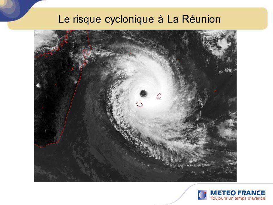 Le risque cyclonique à La Réunion