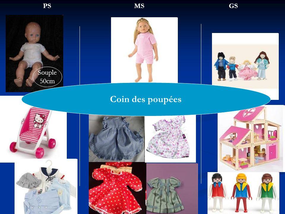 PSMSGS Coin des poupées Souple 50cm