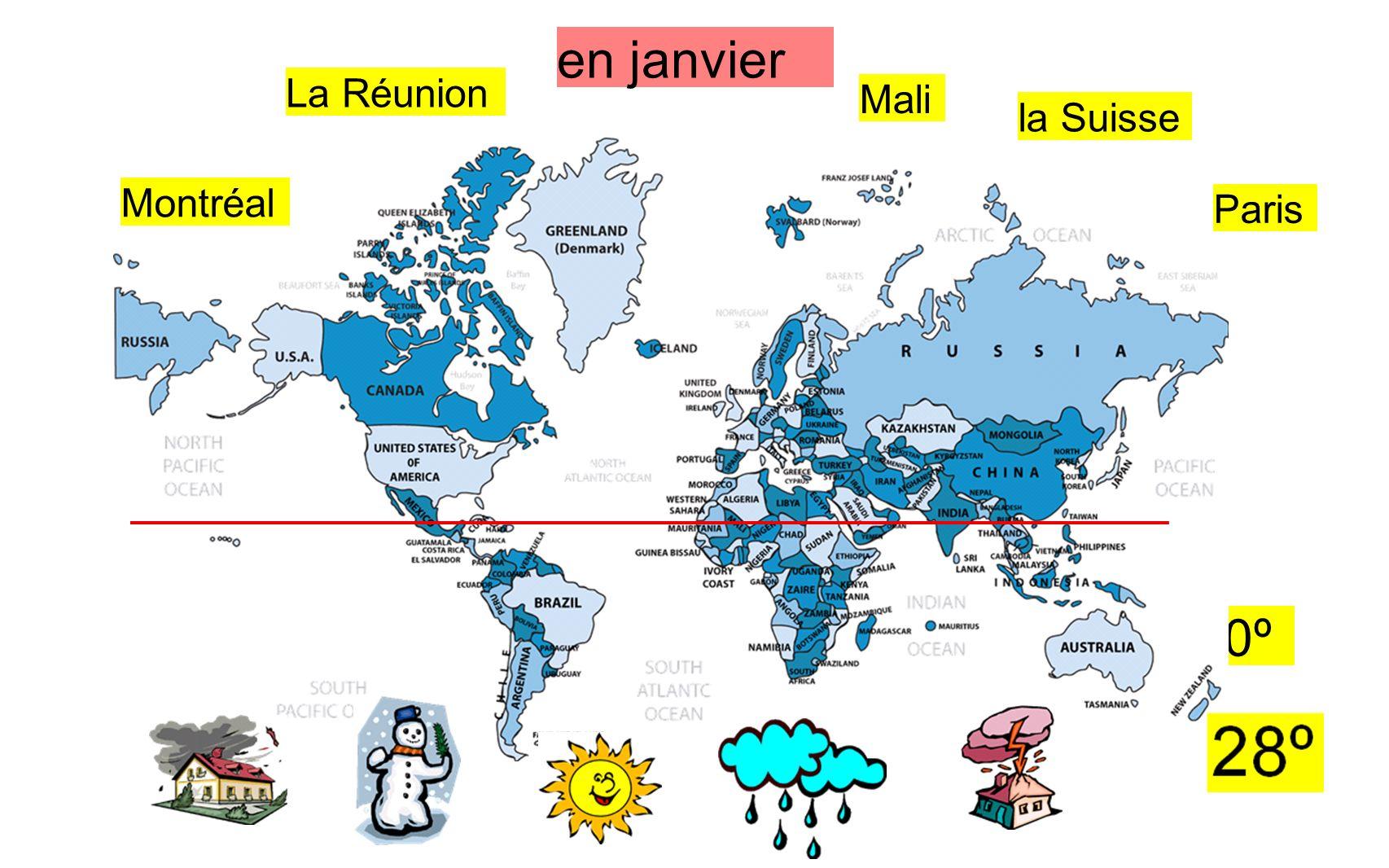 Quel temps fait-il en avril à Mali en Afrique .
