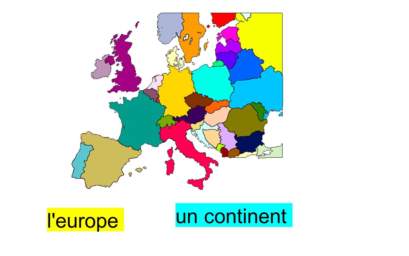 un pays la France