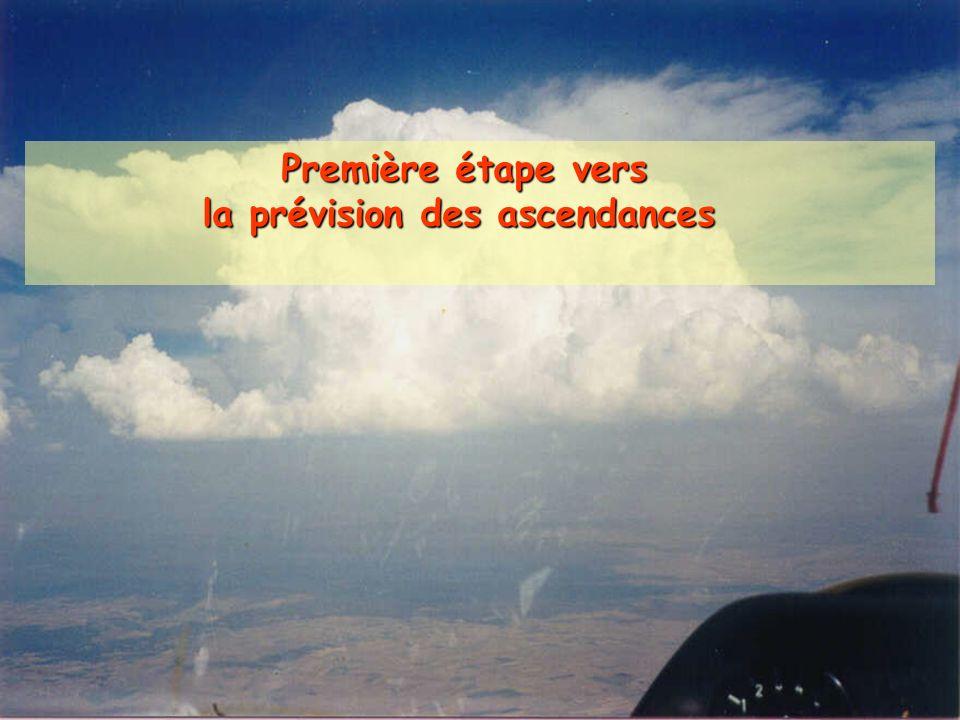 Première étape vers Première étape vers la prévision des ascendances la prévision des ascendances