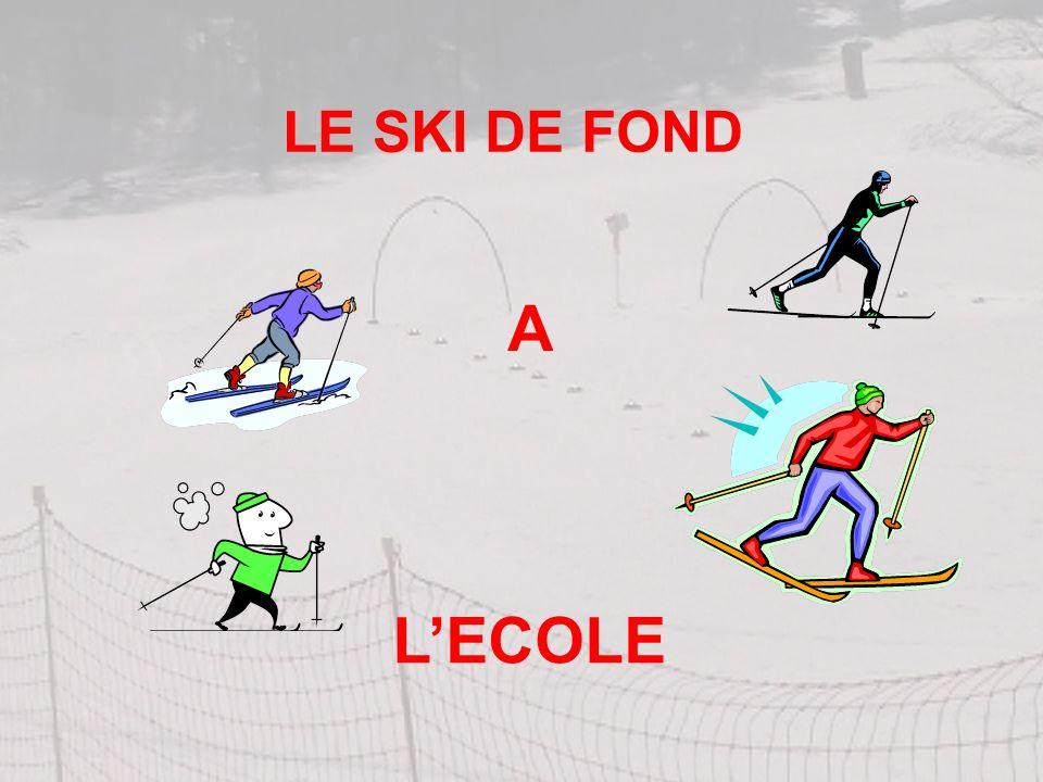 LE SKI DE FOND LECOLE A