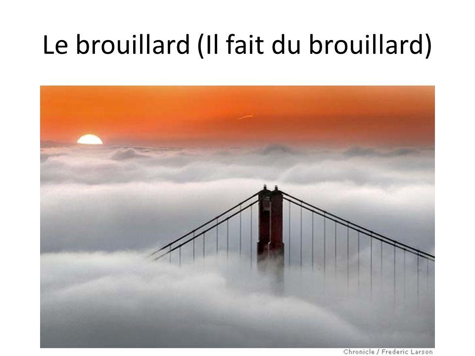 Le brouillard (Il fait du brouillard)
