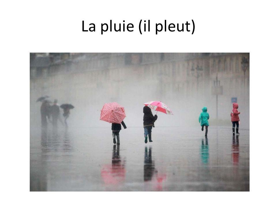 La pluie (il pleut)