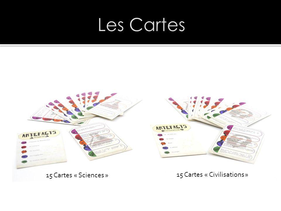 15 Cartes « Civilisations » 15 Cartes « Sciences »