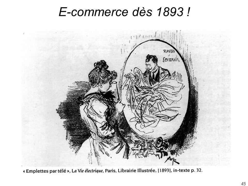 45 E-commerce dès 1893 !