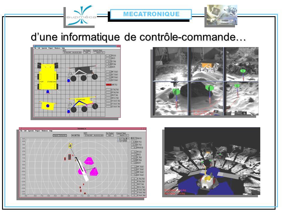 dune informatique de contrôle-commande… MECATRONIQUE