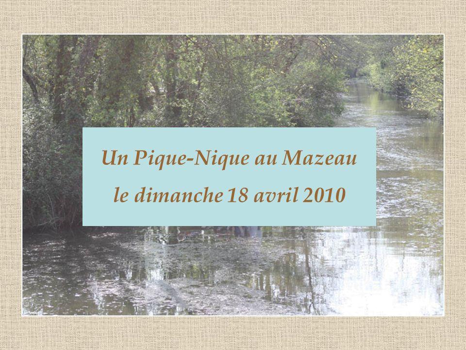 Un Pique-Nique au Mazeau le dimanche 18 avril 2010