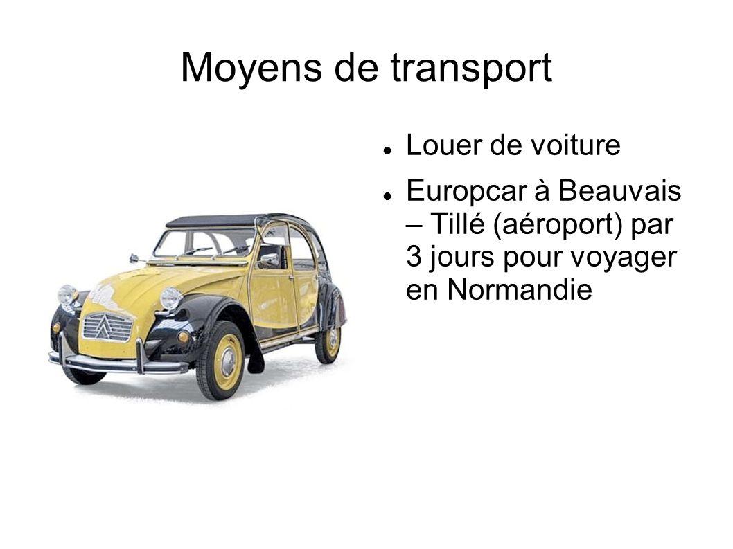 Louer de voiture Europcar à Beauvais – Tillé (aéroport) par 3 jours pour voyager en Normandie