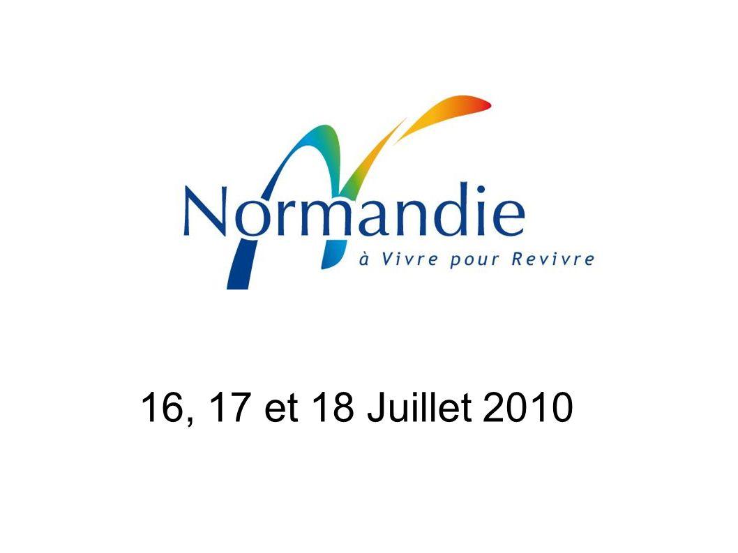 16, 17 et 18 Juillet 2010