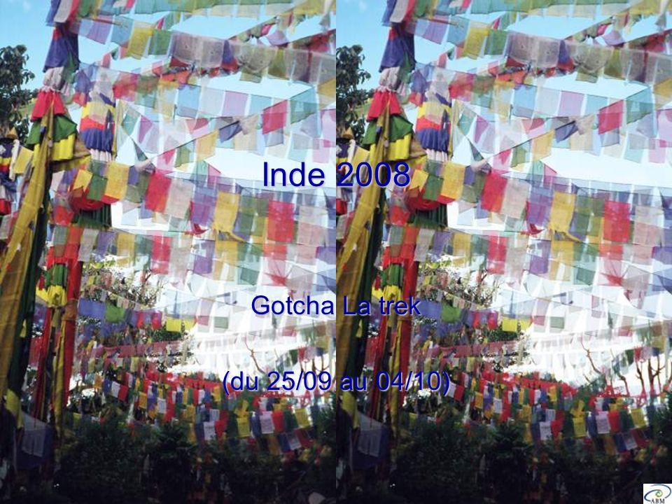 Inde 2008 Gotcha La trek (du 25/09 au 04/10)