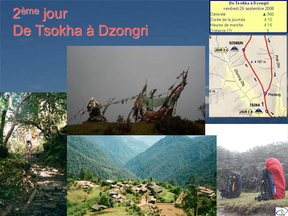 2 ème jour De Tsokha à Dzongri