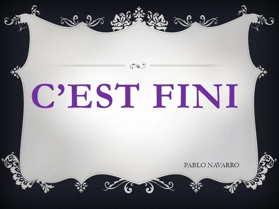 CEST FINI PABLO NAVARRO