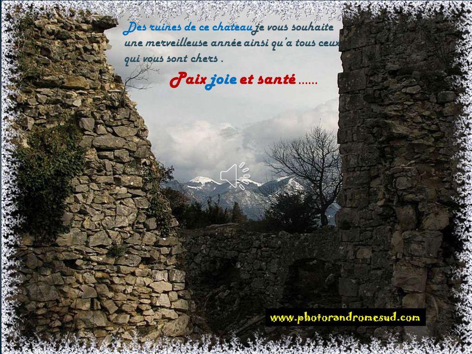 Ruines du château de Soyans ( Saou )