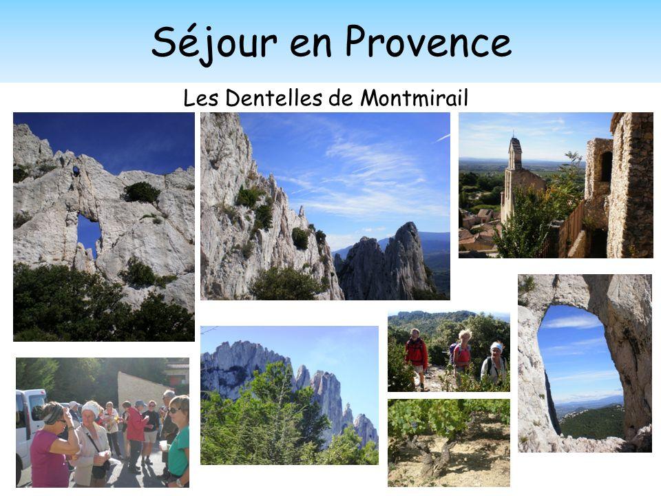Séjour en Provence Les Dentelles de Montmirail