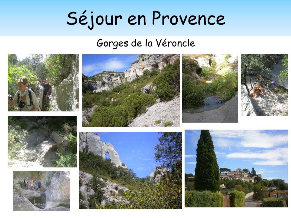 Séjour en Provence Gorges de la Véroncle
