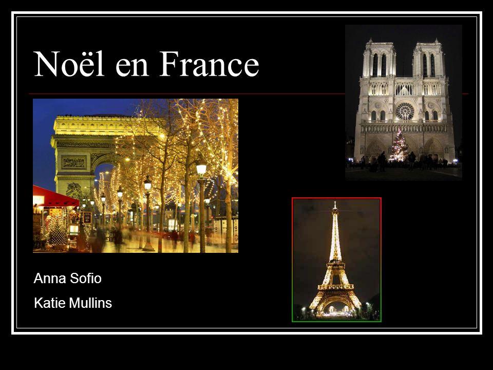 Noël en France Anna Sofio Katie Mullins