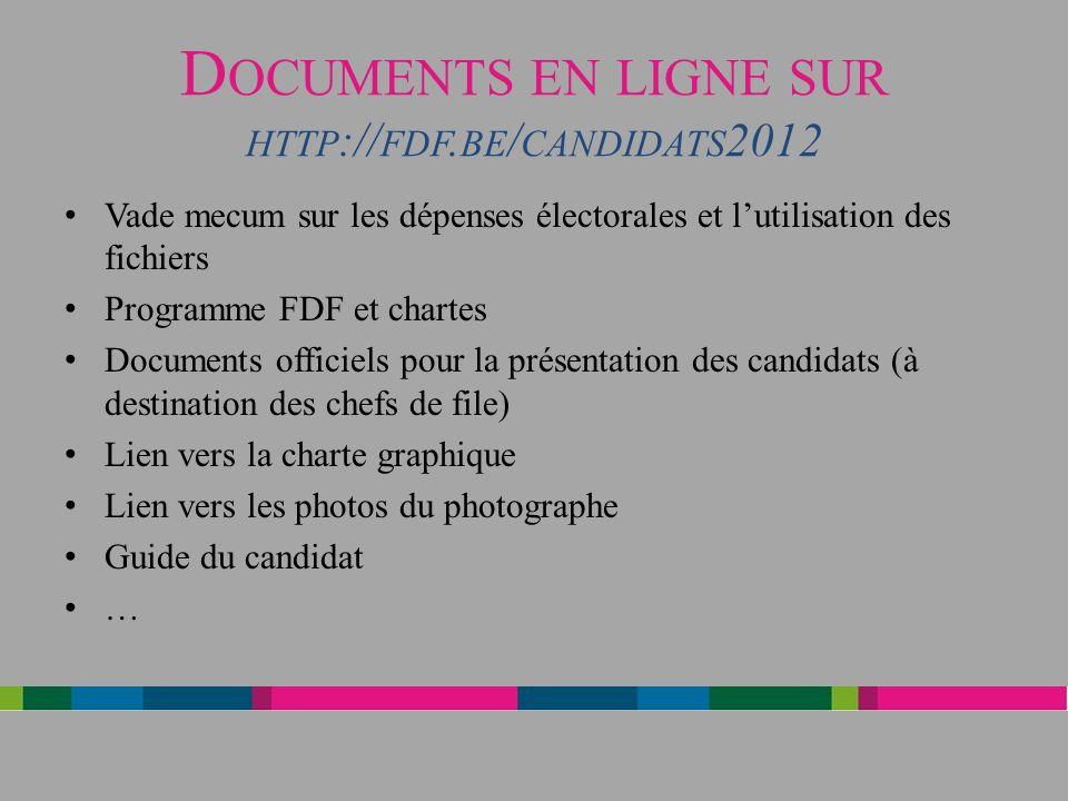 D OCUMENTS EN LIGNE SUR HTTP :// FDF.