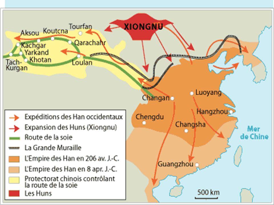 Sociétés et civilisations Empire-monde : un seul centre Chine limites physiques paix relative