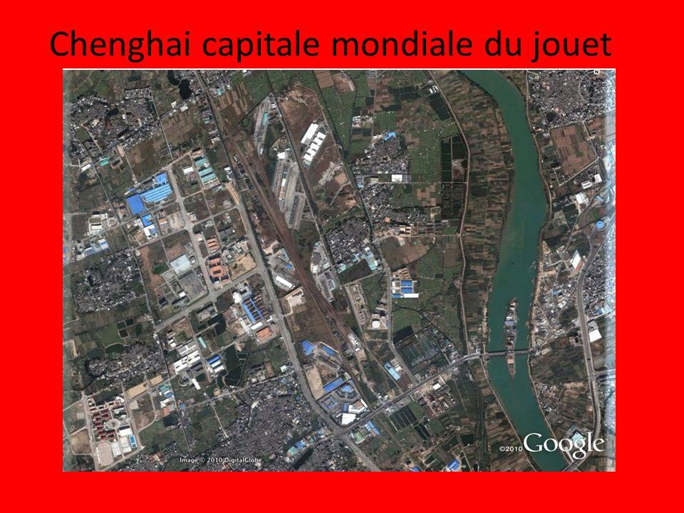 Schéma: Chenghai, une ville industrielle en Chine Légendes