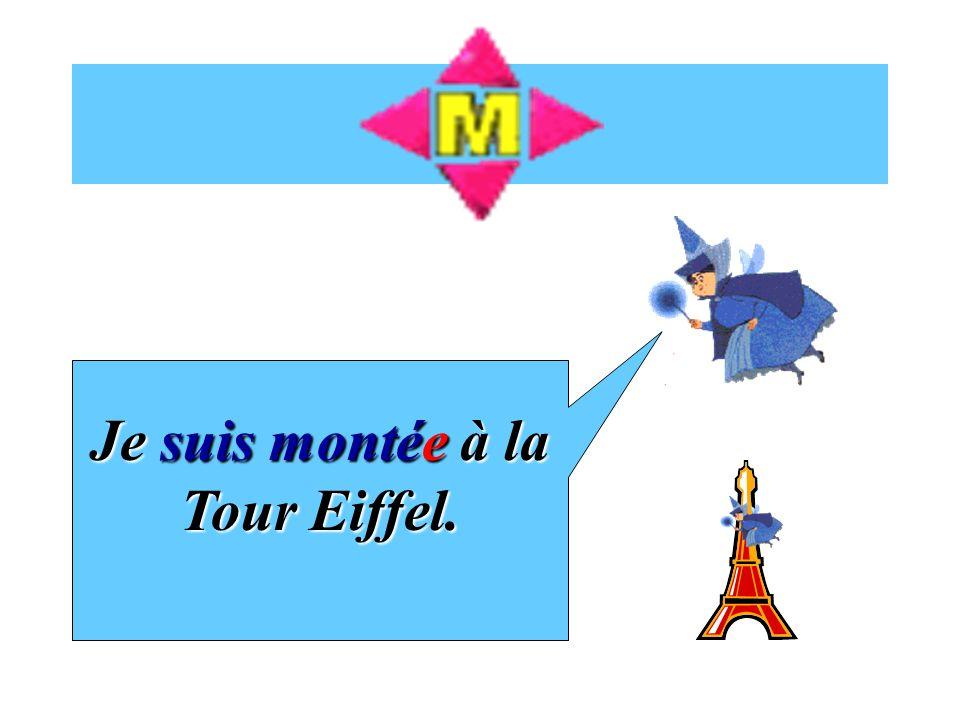 14 verbs form their past tense with être mont é sorti retourné venu nénéarrivé descendu entré resté tombé rentré mort allé parti