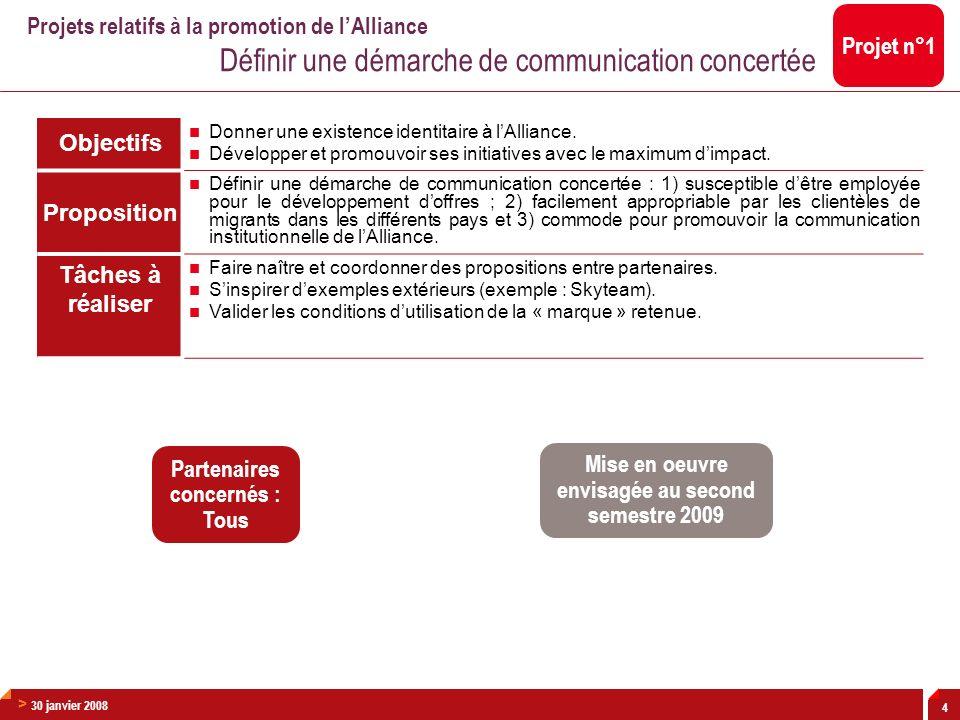> 30 janvier 2008 15 Proposition: MODELE DE CREDITS EUROMED SPECIALISES Afin de faciliter le financement des PME dans tous les pays de la zone, le groupe de travail propose de répliquer, où cela est possible, lexpérience dIntesa Sanpaolo en Italie en partenariat avec les CONFIDI de facilités de paiement et de garanties de crédit pour les PME.