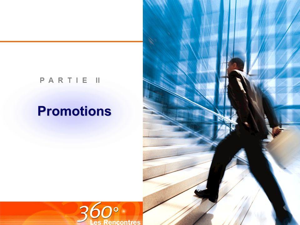 Promotions P A R T I E II
