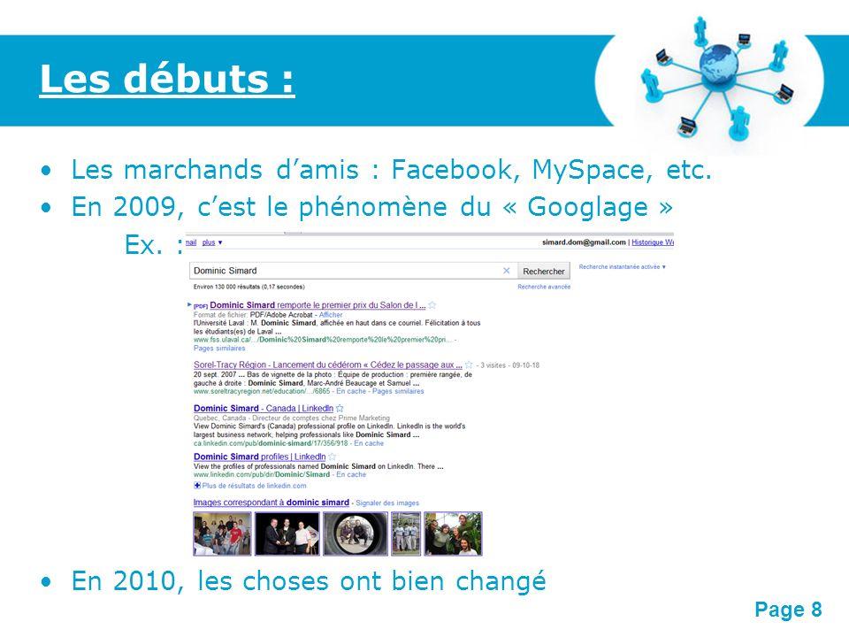 Free Powerpoint Templates Page 19 Voici la façon dont Facebook vous recommande certains amis : Extra :
