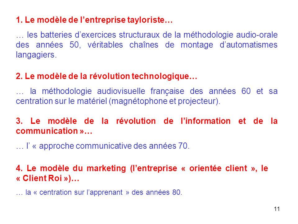 12 5. Lentreprise « orientée projet »… … la « perspective actionnelle » des années 2000 ?