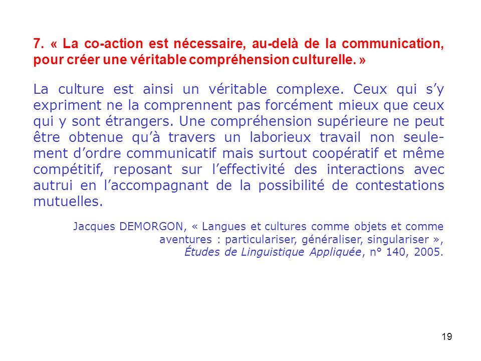20 1.Concevoir lunité de lunité didactique comme unité daction et non pas de communication.