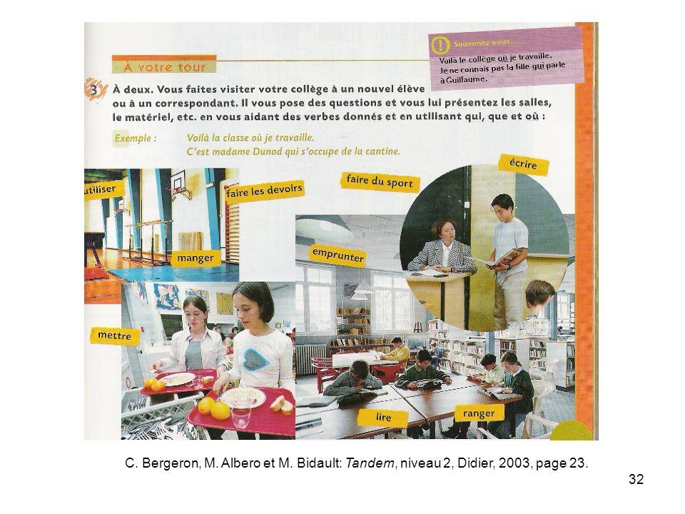 33 a) Les élèves ne sont pas impliqués dans la conception même du projet : Doit-on demander une autorisation pour cette visite, et à qui .