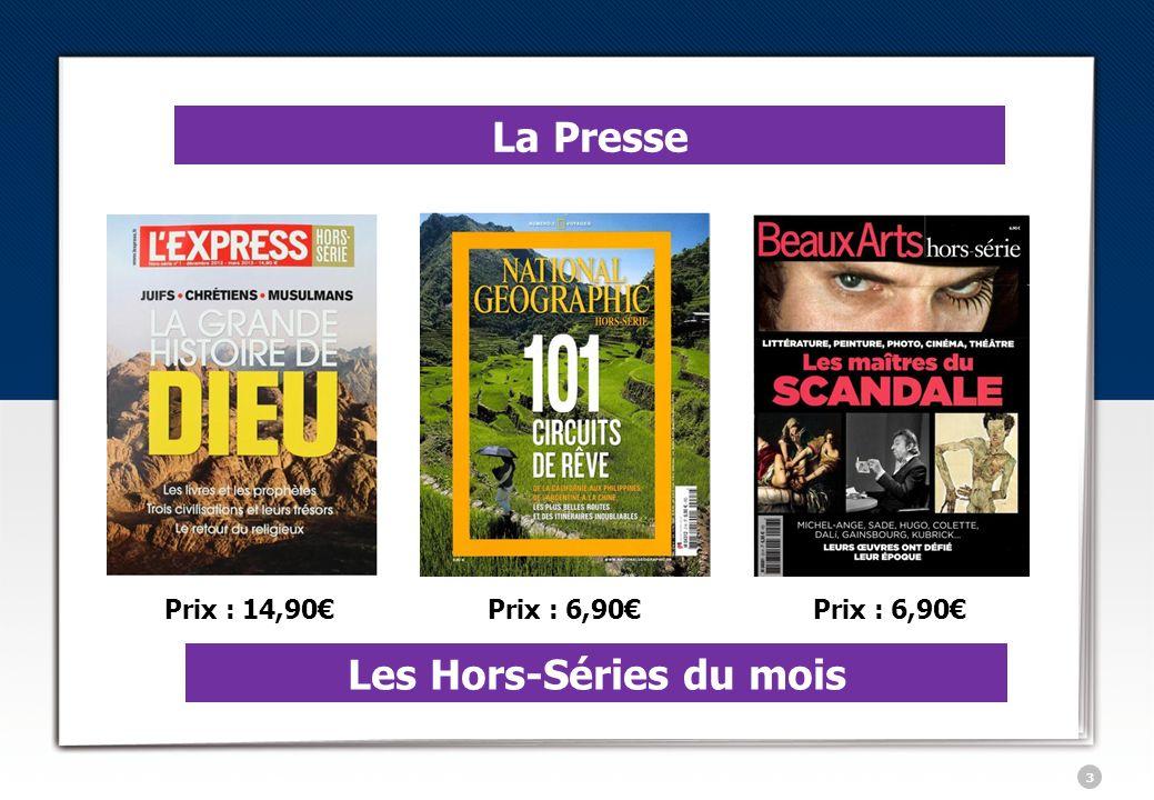 4 Le Livre Lévènement de lannée 2013 Parution le 2 janvier Prix : 17 Le tome 2 de la Trilogie