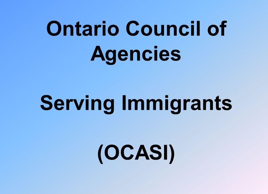 Ontario Council of Agencies Serving Immigrants (OCASI)