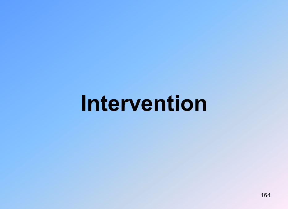 164 Intervention