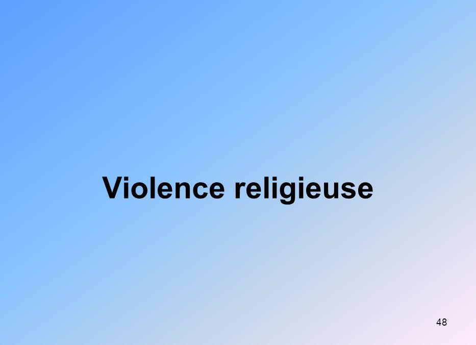 48 Violence religieuse