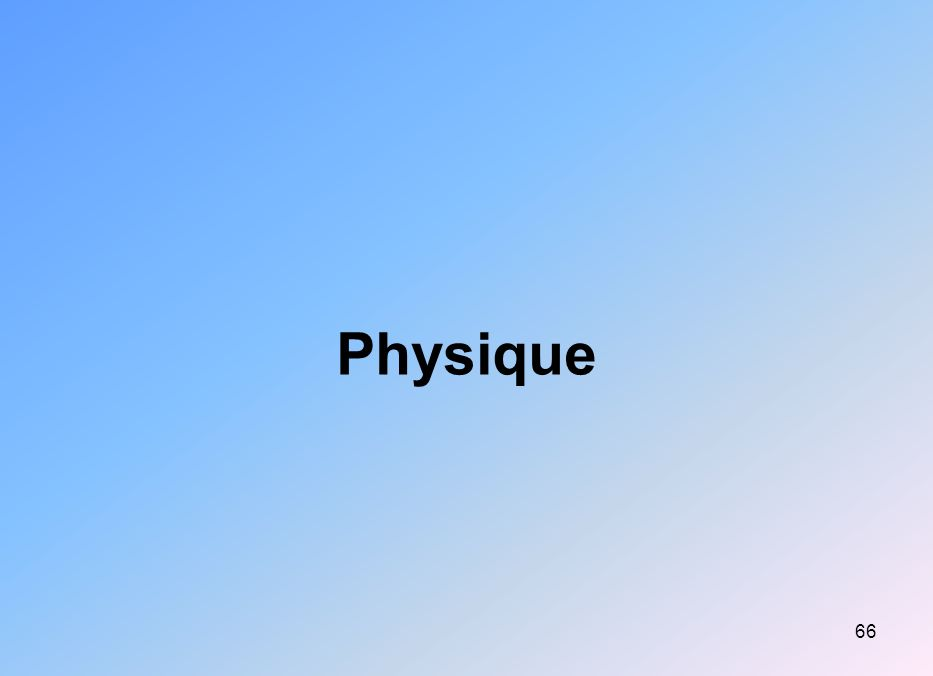 66 Physique