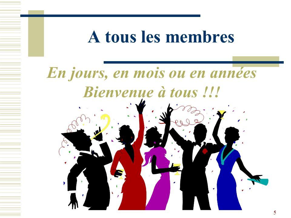4 Membres depuis 1990-92 14 à 16 ans Guy et Carmen Northon Jacques Dugas et Jocelyne Fillion Serge Beaudin Marcel et Lorraine Rozon Frank Fenton