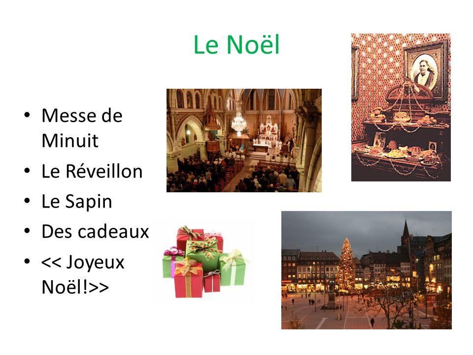Le Noël Messe de Minuit Le Réveillon Le Sapin Des cadeaux >