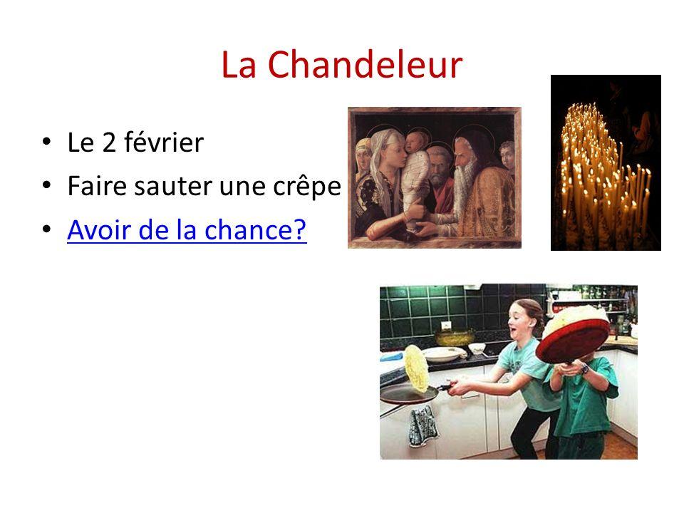 La Chandeleur Le 2 février Faire sauter une crêpe Avoir de la chance?