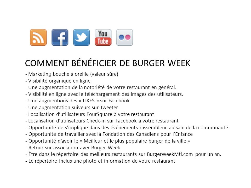 How do I benefit from Burger Week.